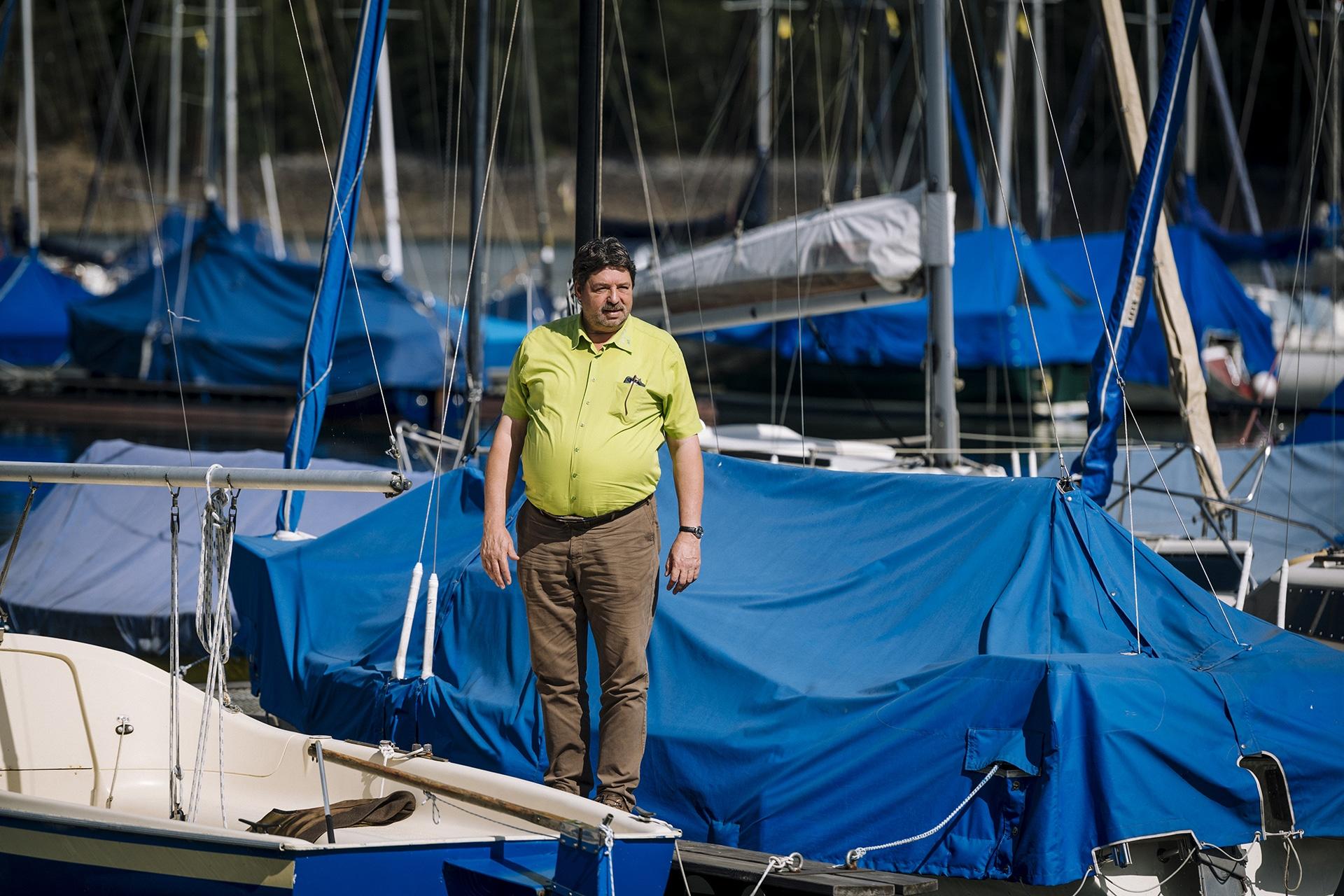 Thomas Kramer segelt gerne