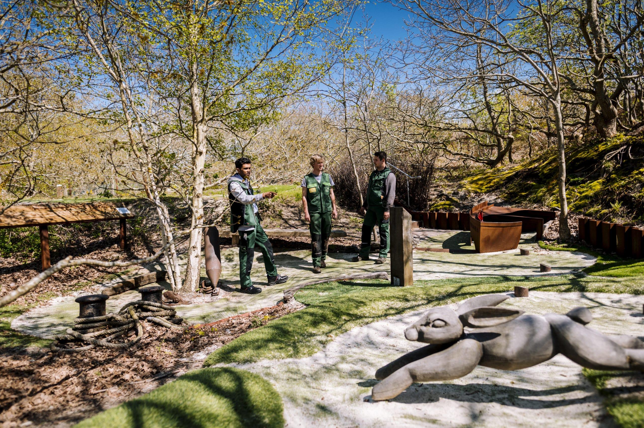 Skulpturengarten Spiekeroog