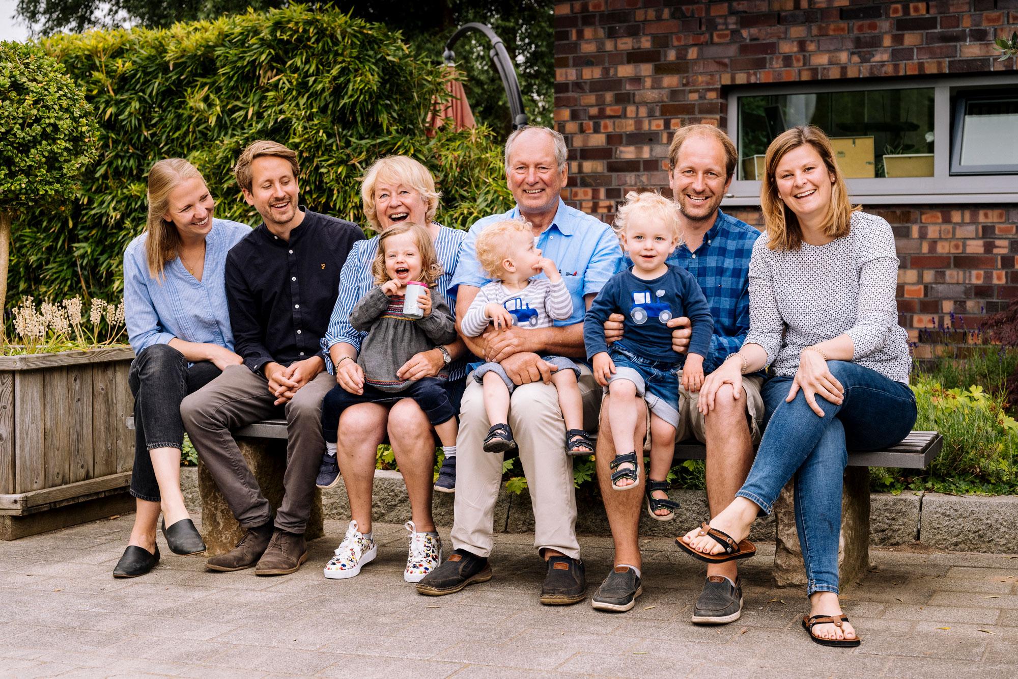 Familie im Betrieb